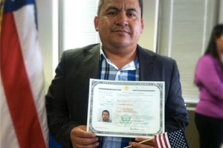 Abel Rodriguez, Client of the Month, August 2013
