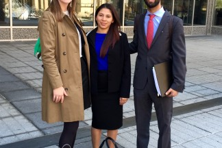"GUEST BLOG: ""More Than a Grade: How our Salvadoran Asylum Client  Taught us What it Takes to be an Attorney"" by Abdulmajeed Alhogbani, with contributions by Barrett Bles,  Recent Graduates of the CUA Columbus School of Law"