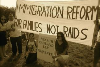 The April 10 Immigrant Rights Rally by Liana Montecinos