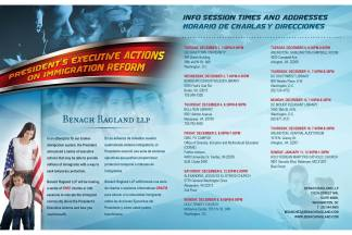 EXECUTIVE REFORMS: Public Meetings with Benach Collopy