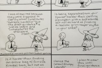 Scenes from the Immigration Bar: Halloween Hardship