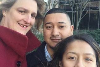 April 2018 Clients of Month Aldemar Segundo and Susan Matos